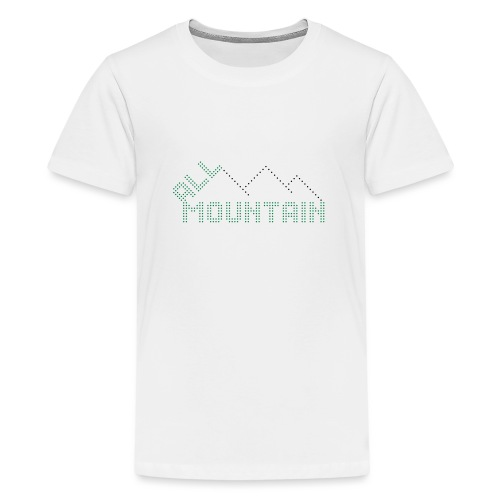 ALL MOUNTAIN - Teenager Premium T-Shirt