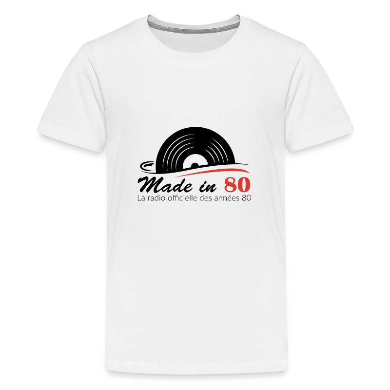 Made in 80 - T-shirt Premium Ado