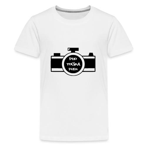 Photographer schwarz - Teenager Premium T-Shirt
