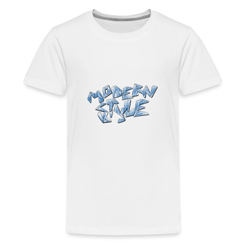 modern style - Maglietta Premium per ragazzi
