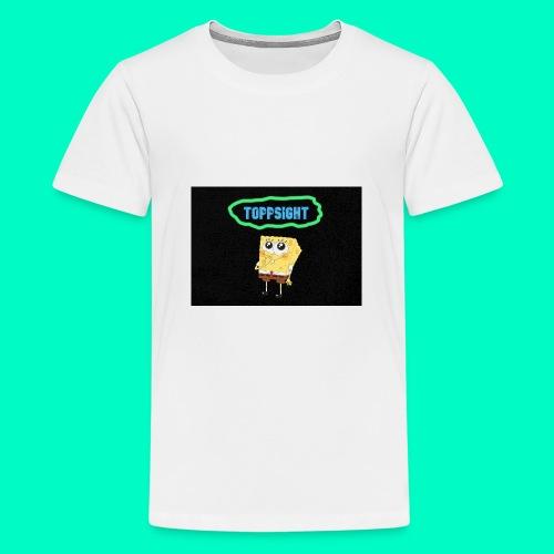 Topsight - Premium-T-shirt tonåring