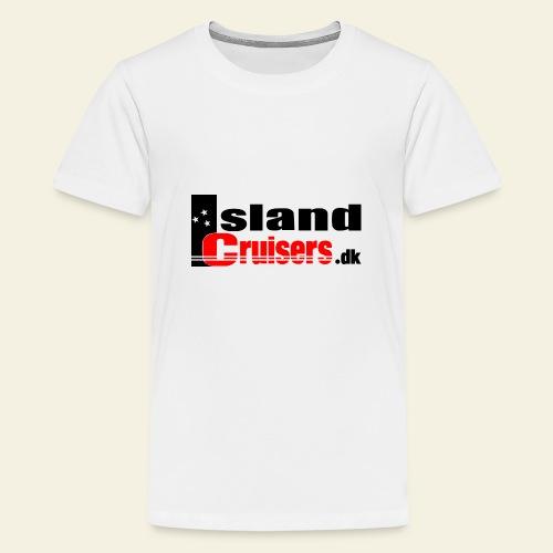 Island cruisers black - Teenager premium T-shirt