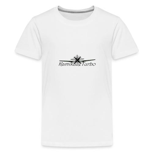 Kamikaze Turbo - Premium-T-shirt tonåring