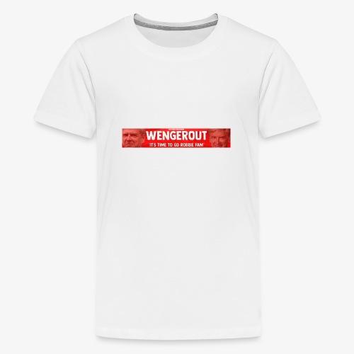 Wenger Out - Teenage Premium T-Shirt