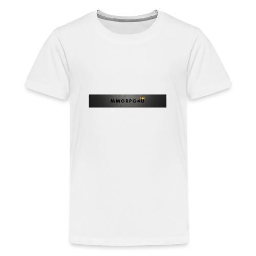 MMORPG4u - Teenager Premium T-shirt