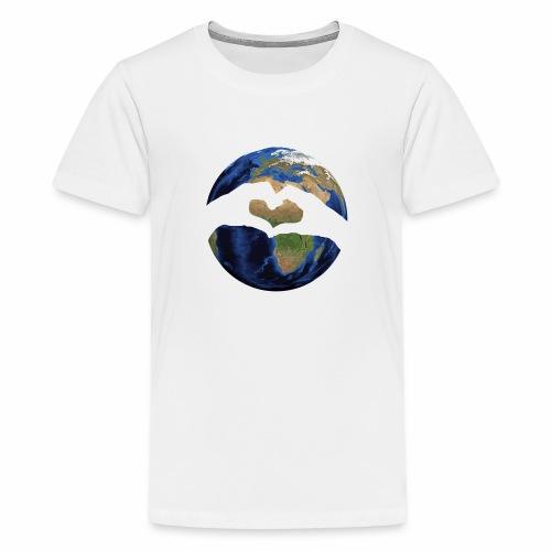 Zu zweit um die Welt - Logo - Teenager Premium T-Shirt