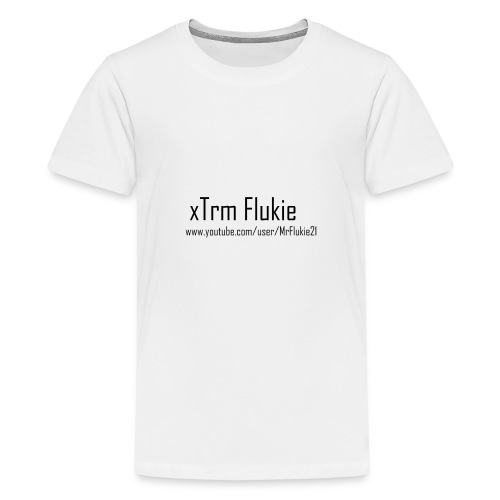xTrm Flukie - Teenage Premium T-Shirt