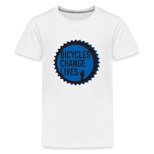 BCL Blue Cog - Teenage Premium T-Shirt
