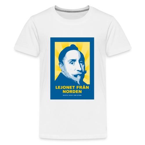 Lejonet från Norden - Premium-T-shirt tonåring