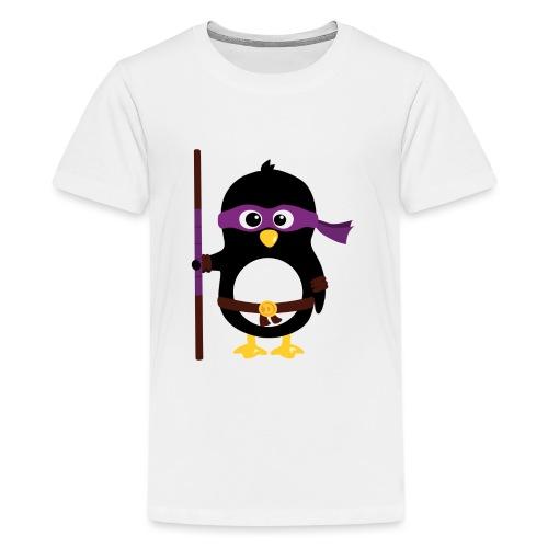 Pingouin ninja - T-shirt Premium Ado