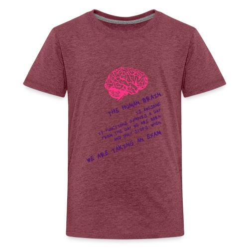 Human Brain - Maglietta Premium per ragazzi