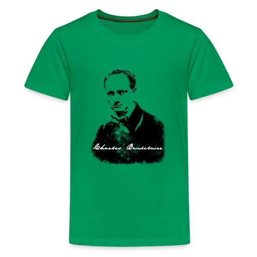 Charles Baudelaire - T-shirt Premium Ado