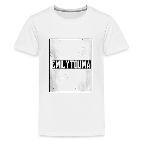 emilytouma desgin groot 5000 4000 png - Teenager Premium T-shirt