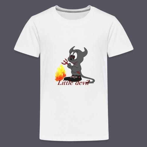 lustiges Teufelchen Little devil - Teenager Premium T-Shirt