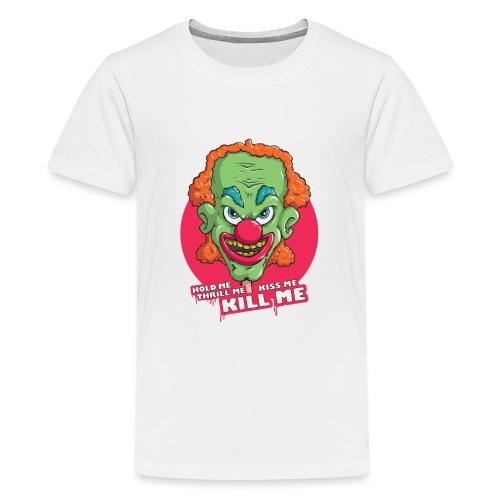 Clown - Koszulka młodzieżowa Premium