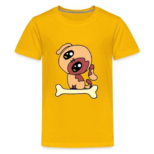 Kawaii le chien mignon - T-shirt Premium Ado