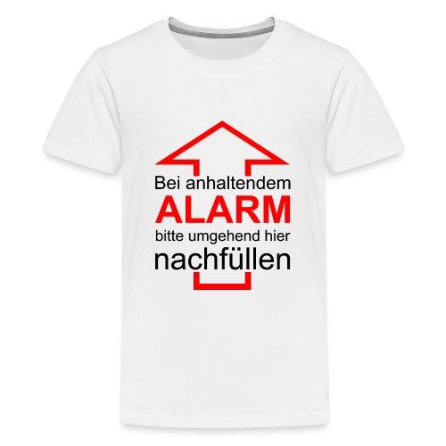Bitte nachfüllen! - Teenager Premium T-Shirt
