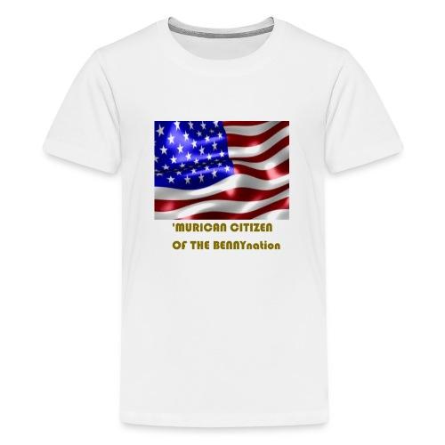 AMERICAN BENNYBOY90 MERCH - Teenage Premium T-Shirt