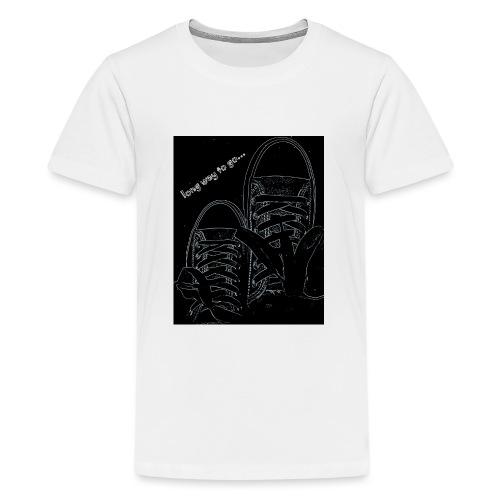 Long way to go - Teenage Premium T-Shirt
