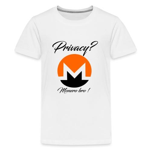 Moneroooo - T-shirt Premium Ado