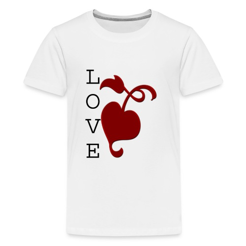 Love Grows - Teenage Premium T-Shirt