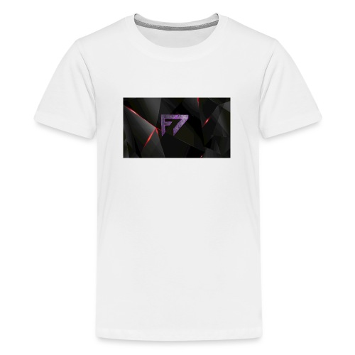 f7Logo - Teenage Premium T-Shirt