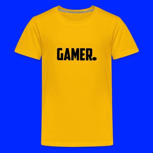 gamer. - Teenager Premium T-shirt