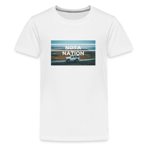Nota Nation - Teenage Premium T-Shirt