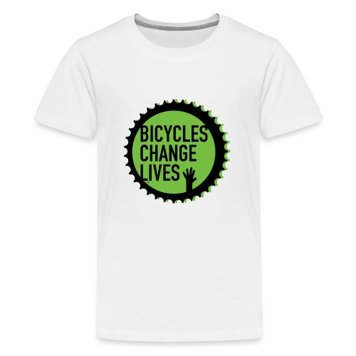 BCL Green Cog - Teenage Premium T-Shirt