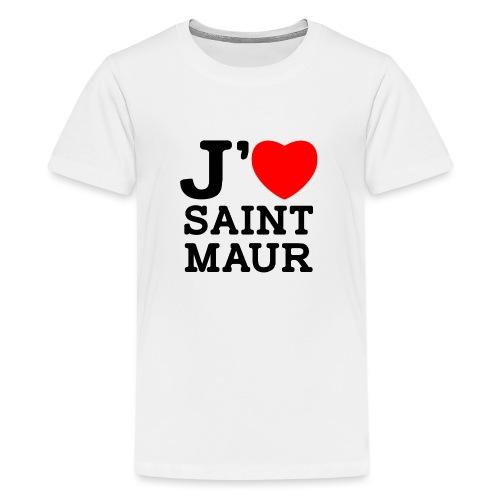 J'aime Saint-Maur ! - T-shirt Premium Ado