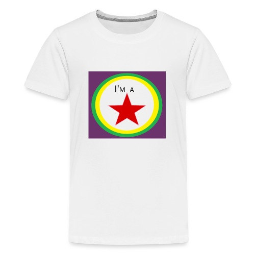 I'm a STAR! - Teenage Premium T-Shirt
