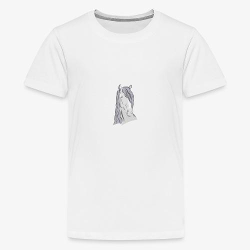 Beispiel Druck - Teenager Premium T-Shirt