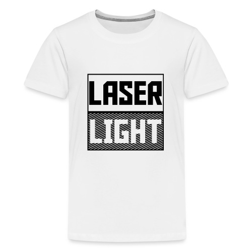 laser light design - Teenage Premium T-Shirt