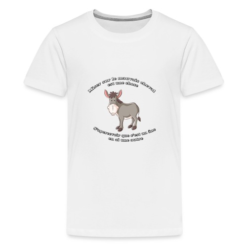 HI HAN by LOL+LOL=MDR - T-shirt Premium Ado