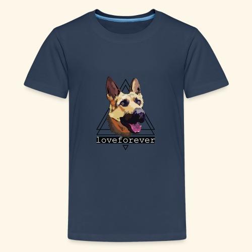 SHEPHERD LOVE FOREVER - Camiseta premium adolescente