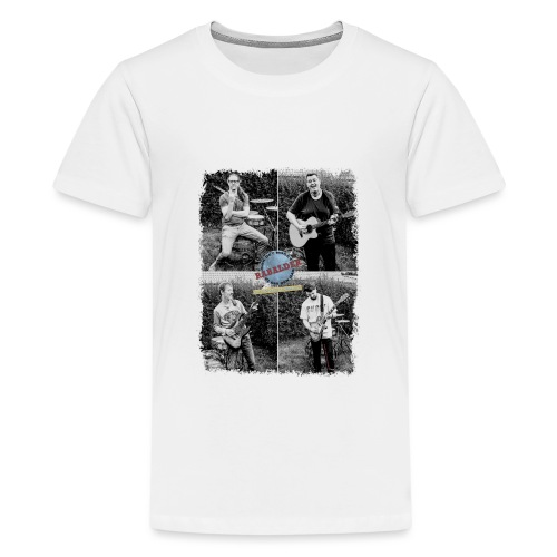Rabalder Band Members Black & White - Teenager premium T-shirt