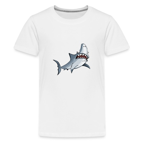 shark - Teenager Premium T-Shirt
