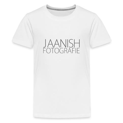 LOGO JAANISH PNG - Teenager Premium T-shirt