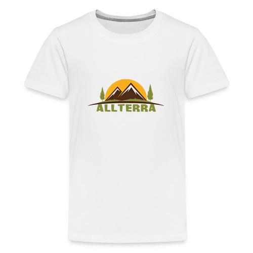 camiseta básica Alterra - Camiseta premium adolescente