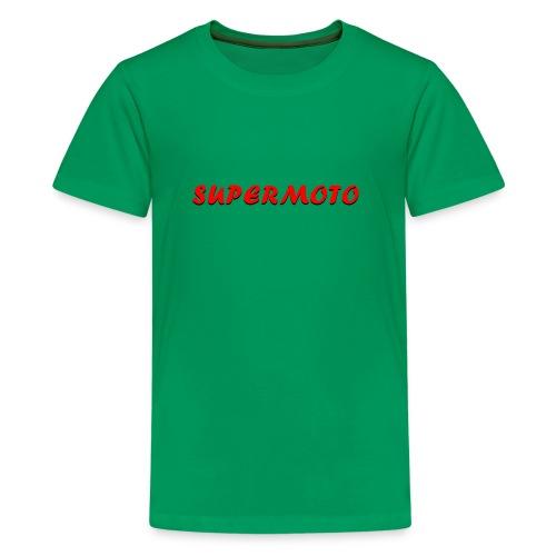 SupermotoLuvan - Premium-T-shirt tonåring