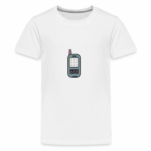 Albert Egelund Mobil Logo - Teenager premium T-shirt