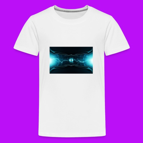 lightning cell - Teenage Premium T-Shirt