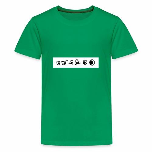 graffiti caracter augen - Teenager Premium T-Shirt