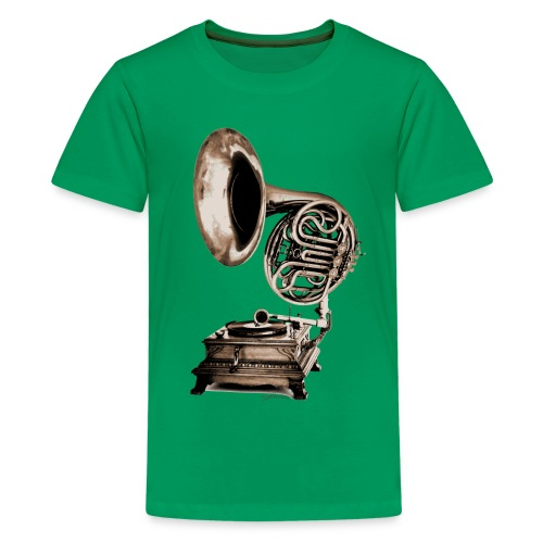 Grammo-Horn - Teenager Premium T-Shirt