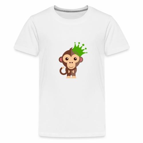 Kleins Äffchen - Teenager Premium T-Shirt