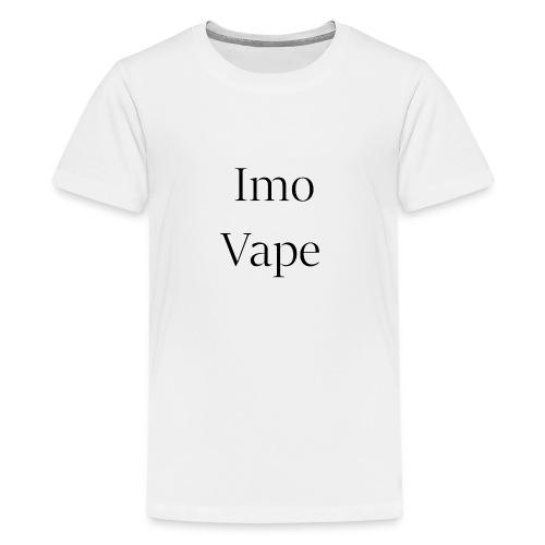 ImoVape - T-shirt Premium Ado