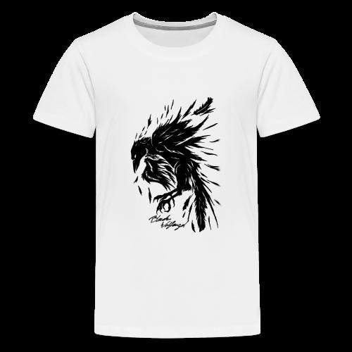 raven_tribal - Teenager Premium T-Shirt