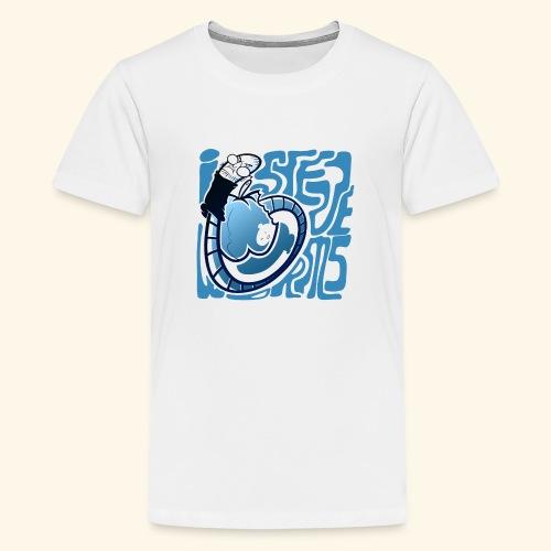 i STEVE WORMS - Teenage Premium T-Shirt