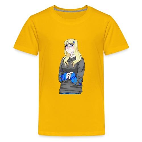 Sad-chan v2 - Teenage Premium T-Shirt