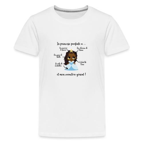 Princesse parfaite - T-shirt Premium Ado